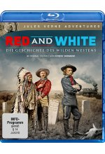 Red and White - Die Geschichte des Wilden Westens - Jules Verne Adventures Blu-ray-Cover