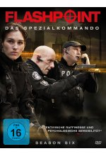 Flashpoint - Das Spezialkommando - Season 6  [3 DVDs] DVD-Cover