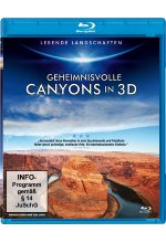 Geheimnisvolle Canyons in 3D Blu-ray 3D-Cover