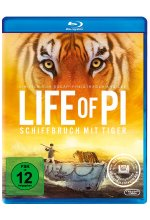 Life of Pi - Schiffbruch mit Tiger Blu-ray-Cover