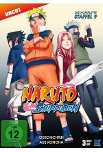 Naruto Shippuden - Staffel 9 - Uncut  [3 DVDs] DVD-Cover