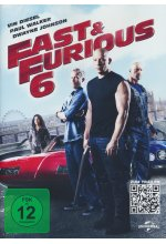 Fast & Furious 6 DVD-Cover
