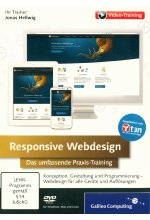 Responsive Webdesign - Das umfassende Praxis-Training (PC+MAC+Linux) Cover