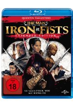 The Man With The Iron Fists - Extended Edition Blu-ray-Cover