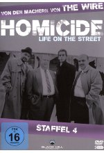Homicide - Staffel 4  [3 DVDs] DVD-Cover