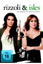 Rizzoli & Isles - Staffel 3  [3 DVDs] DVD-Cover