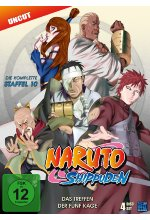 Naruto Shippuden - Staffel 10 - Uncut  [4 DVDs] DVD-Cover
