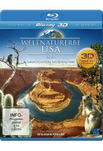 Weltnaturerbe USA - Grand Canyon Nationalpark Blu-ray 3D-Cover