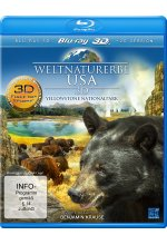 Weltnaturerbe USA - Yellowstone Nationalpark Blu-ray 3D-Cover