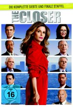 The Closer - Staffel 7  [5 DVDs] DVD-Cover