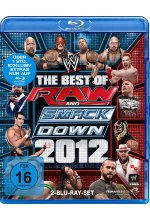 The Best of Raw & Smackdown 2012  [2 BRs] Blu-ray-Cover