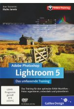 Adobe Photoshop Lightroom 5 - Das umfassende Training (PC+MAC) Cover