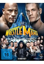 WWE - Wrestlemania 29  [3 DVDs] DVD-Cover