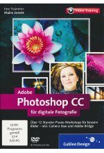 Adobe Photoshop CC für Digitale Fotografie (PC+MAC+Linux) Cover