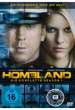 Homeland - Season 1  [4 DVDs] DVD-Cover
