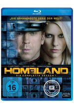 Homeland - Season 1  [3 BRs] Blu-ray-Cover