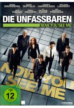 Die Unfassbaren - Now you see me - Extended Edition DVD-Cover