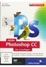 Adobe Photoshop CC - Die Grundlagen (PC+MAC) Cover