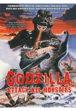 Godzilla - Attack All Monsters  [LE] DVD-Cover