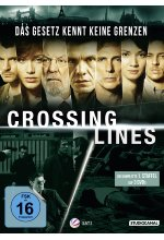 Crossing Lines - Staffel 1  [3 DVDs]<br> DVD-Cover