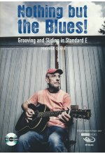 Helmut Grahl - Nothing but the Blues/Grooving and Sliding in Standard E  (+ Noten/Tabulaturenbuch) DVD-Cover