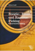 Helmut Grahl - Boogie-, Blues und Ragtime-Picking/Gitarrenworkshop  (+ Noten/Tabulaturenbuch) DVD-Cover
