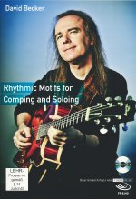 David Becker - Rhythmic Motifs for Comping and Soloing (+ Noten/Tabulaturenbuch) DVD-Cover