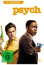 Psych - Season 4  [4 DVDs] DVD-Cover