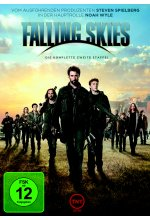Falling Skies - Staffel 2  [3 DVDs] DVD-Cover