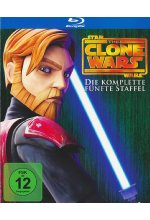 Star Wars - The Clone Wars - Staffel 5  [2 BRs] Blu-ray-Cover