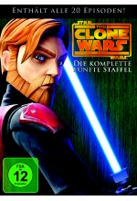 Star Wars - The Clone Wars - Staffel 5  [4 DVDs] DVD-Cover