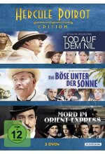 Hercule Poirot Edition  [3 DVDs] DVD-Cover