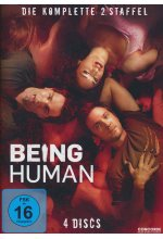 Being Human - Staffel 2  [4 DVDs]        <br> DVD-Cover