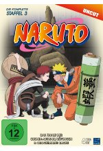 Naruto - Die komplette Staffel 3 - Uncut  [4 DVDs] DVD-Cover