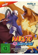 Naruto Shippuden - Staffel 12 - Box 1 - Uncut  [4 DVDs] DVD-Cover
