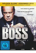 Boss - Season 1  [3 DVDs] DVD-Cover