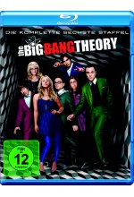 The Big Bang Theory - Staffel 6  [2 BRs] Blu-ray-Cover