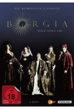 Borgia - Staffel 2  [DC] [4 DVDs] DVD-Cover