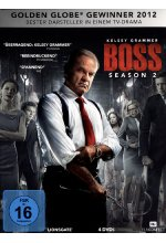 Boss - Season 2  [4 DVDs] DVD-Cover