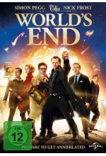 The World's End DVD-Cover