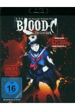 Blood C - The Last Dark - Uncut Blu-ray-Cover