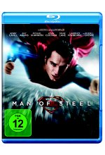 Man of Steel Blu-ray-Cover