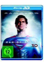 Man of Steel Blu-ray 3D-Cover