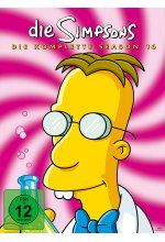 Die Simpsons - Season 16  [4 DVDs] DVD-Cover