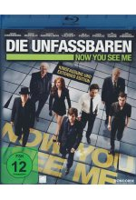 Die Unfassbaren - Now you see me - Extended Edition Blu-ray-Cover