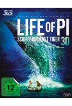 Life of Pi - Schiffbruch mit Tiger  (+ BR) Blu-ray 3D-Cover