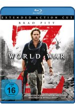 World War Z - Extended Action Cut Blu-ray-Cover
