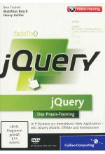 jQuery - Interaktive Webseiten und moderne Web-Applikationen  (PC+MAC+Linux) Cover