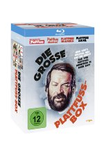Bud Spencer - Die grosse Plattfuss-Box  [4 BRs] (Remastered Version) Blu-ray-Cover