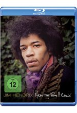 Jimi Hendrix - Hear My Train A Comin' Blu-ray-Cover